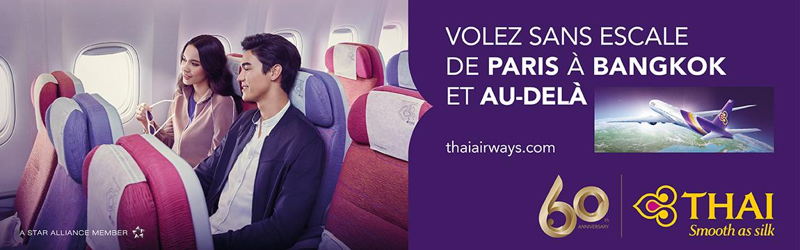 billet avion voyages asieland avec Thai Airways